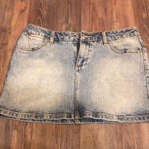 Brody jeans denim skirt